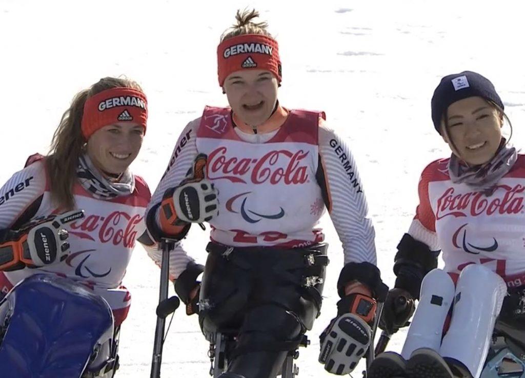 Anna-Lena Forster gewinnt Super-Kombi an Paralympics 2018