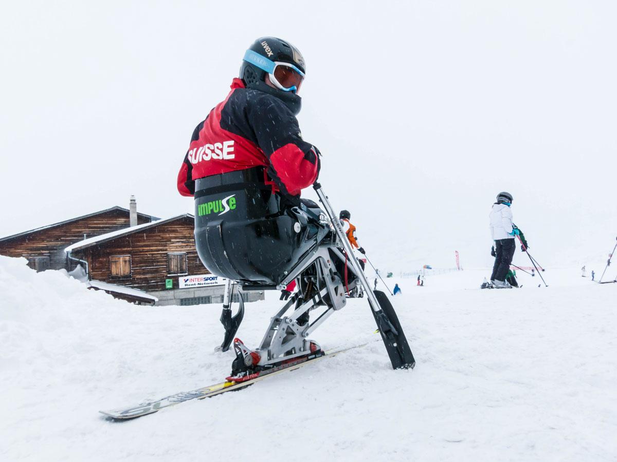 IMPULSE Vorserie erstmals im Schnee!