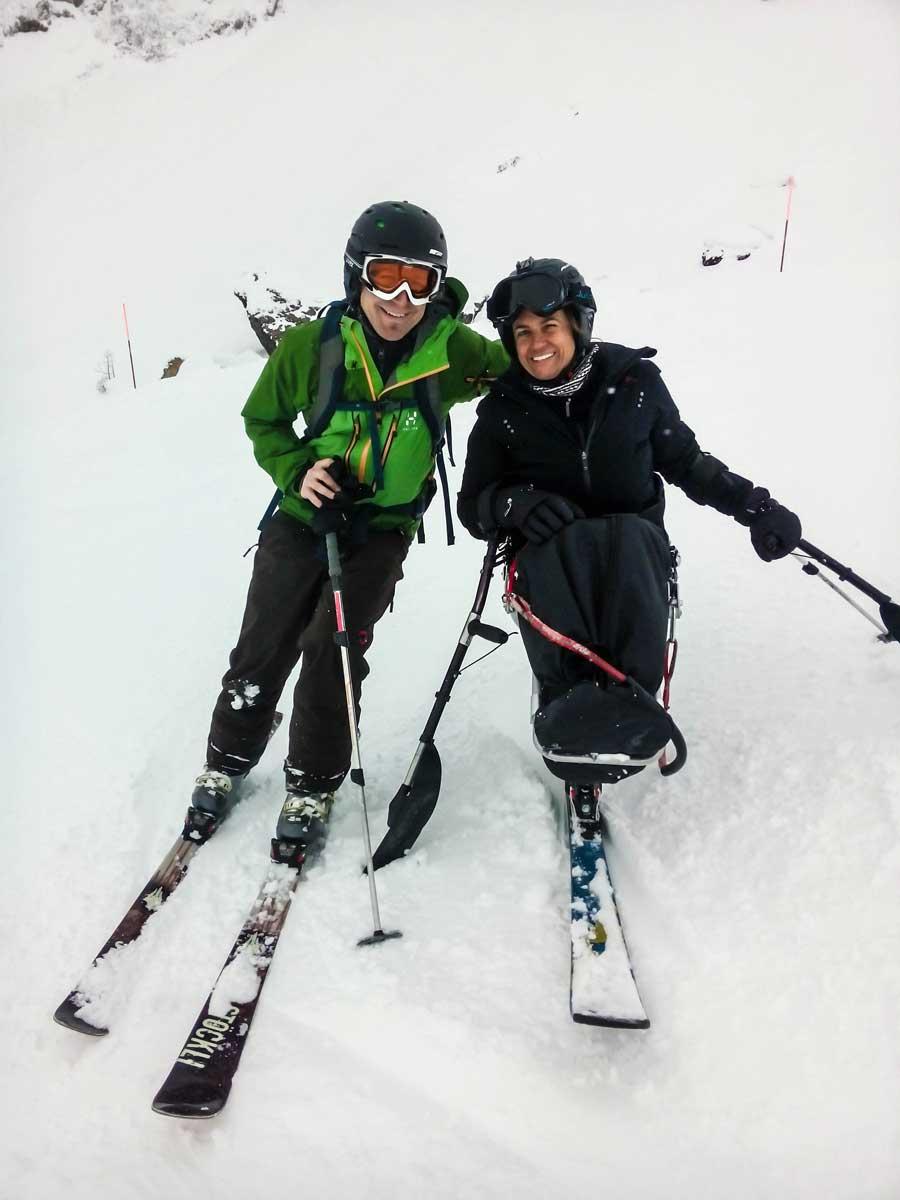 Simona mit IMPULSE-Designer Simon