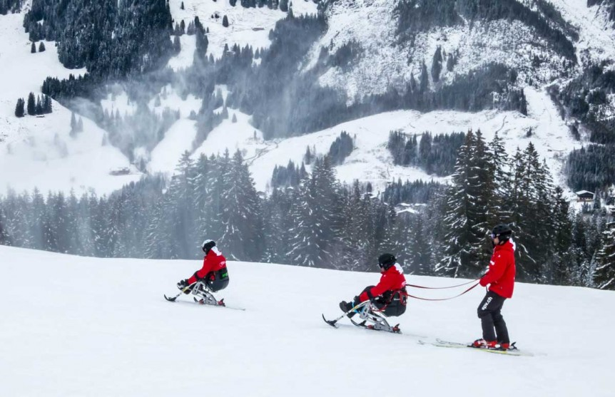 Skilehrer-Umzug auf IMPULSE